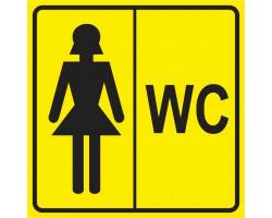 """Пиктограмма """"Женсктй туалет"""""""