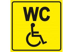 """Пиктограмма """"Туалет для инвалидов"""""""