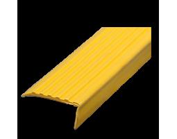 Самоклеящийся угол порог желтый, м/п
